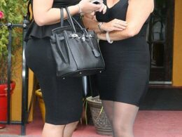 Susan Chana Lask with Myla Sinanaj Before Kim Kardashian Deposition