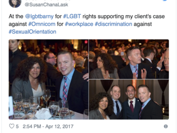 Civil Rights Lawyer Susan Chana Lask Honored at LGBT Event