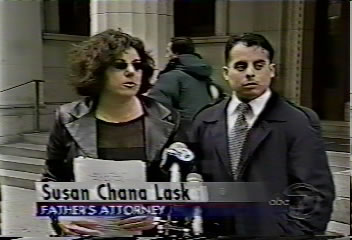Divorce Lawyer Susan Chana Lask with Father in High Profile Child Custody Case