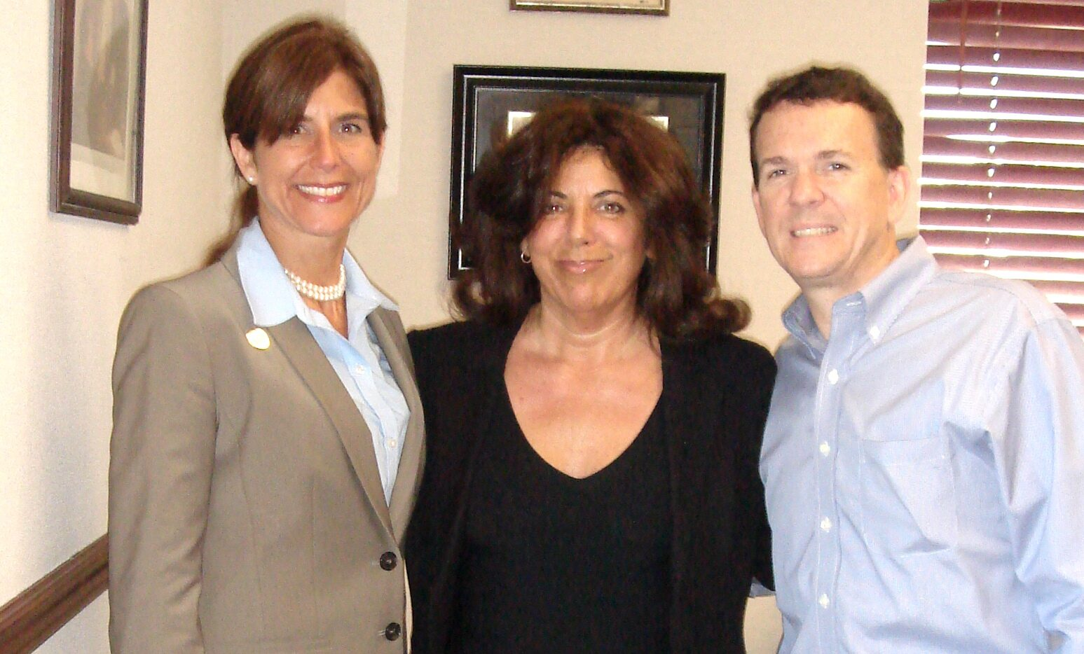 Susan Chana Lask with NJ Senator Beck & Assemblyman O'Scanlon